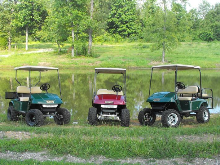 EZGO used golf carts
